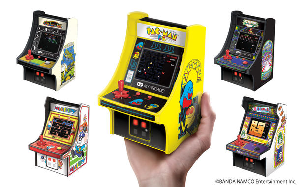 """[Press Release]「レトロアーケード」全5機種を 全国約2,200店舗で3/24~順次発売! 1980年代ゲームセンターの""""あのゲーム""""が手のひらに。"""